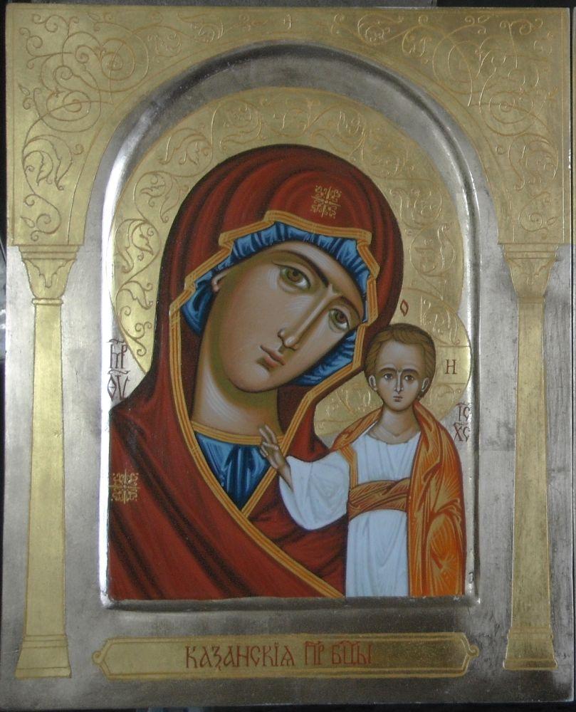 Najnowsze Ikona Matki Boskiej Kazańskiej, różne rozmiary SklepSakralny.pl DA14
